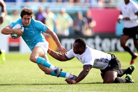 Rugby World Cup: Underdogs Uruguay pull off upset over Fiji