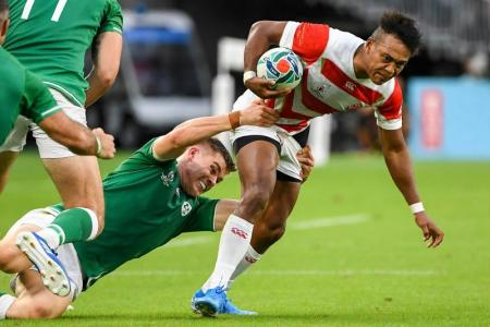 We're not done yet, say Japan after Ireland upset