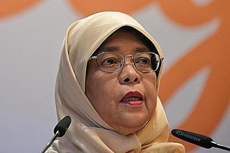 Halimah: More needs to be done to end mental health stigma