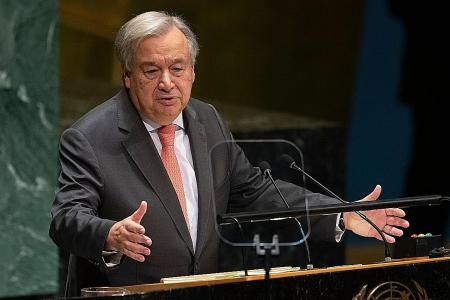 UN could run out of money by end of month