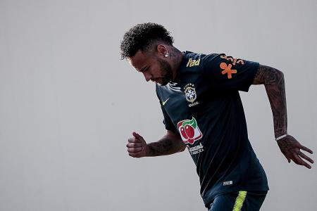 Neymar aiming for an encore at Kallang