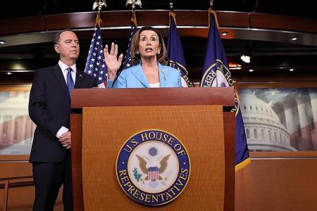 Democrats step up impeachment probe as White House stonewalls