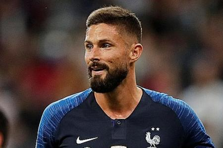 Didier Deschamps bothered by Olivier Giroud's lack of playing time