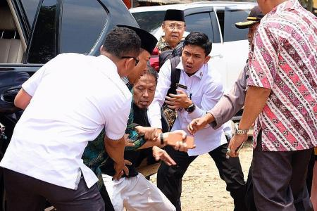 Indonesia minister stabbed by IS-linked pair