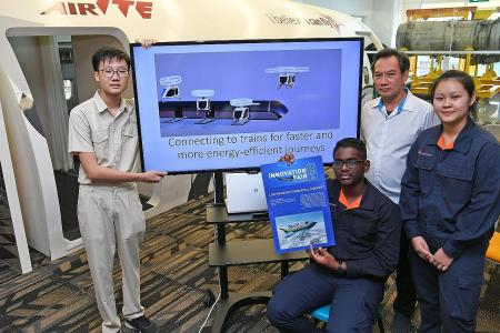 ITE students win top prize in international aviation contest