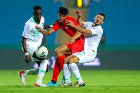 Saudi Arabia too strong as Singapore lose 3-0