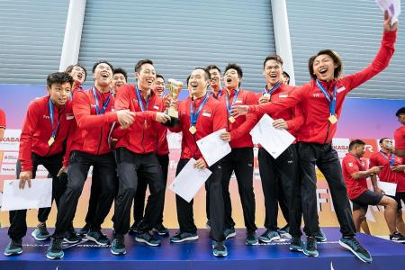 Singapore win Fina Water Polo Challengers Cup