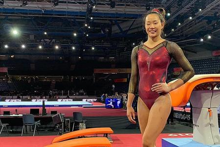 S'pore gymnast Tan Sze En gets best birthday gift: An Olympic spot