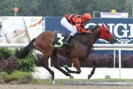 Zuriman gets first win