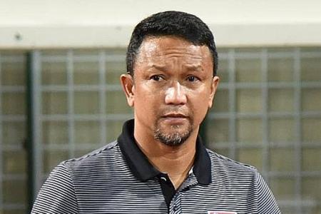 Fandi Ahmad not intimidated by S'pore U-22s' tough SEA Games draw