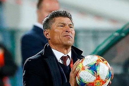 Bulgaria coach Krasimir Balakov: I did not hear any racist abuse