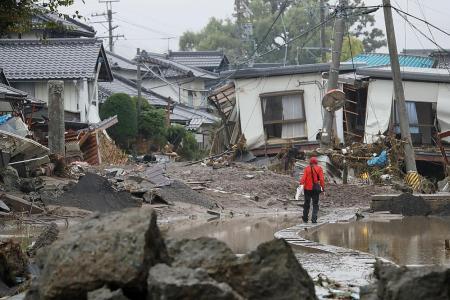 Japanese evacuation centre slammed for turning away homeless