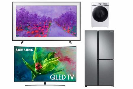 Samsung clearance sale returns at Harvey Norman Factory Outlet