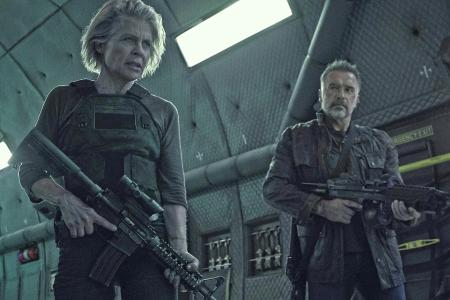 Sarah Connor Saves The Day In Terminator: Dark Fate Clip