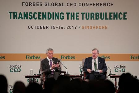 Rocky situation in Hong Kong not good for Singapore, says PM Lee