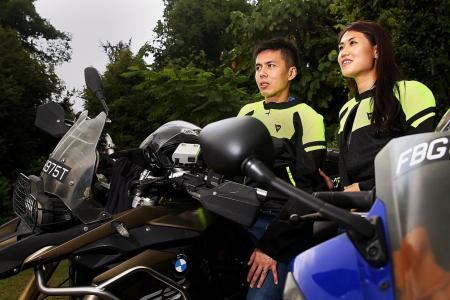 Local couple set off on biking adventure around the globe