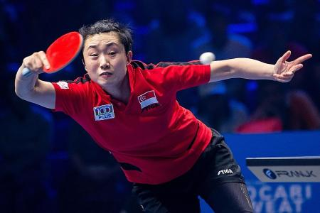 World Cup bronze gives Feng Tianwei a boost for Tokyo Olympics