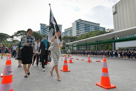 Raffles Girls' School moves to new home