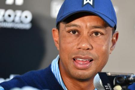 Captain Tiger Woods hints he'll pick himself for Presidents Cup