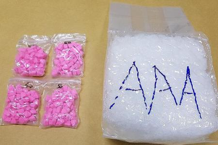 Four men arrested, $223k worth of drugs seized in CNB raid