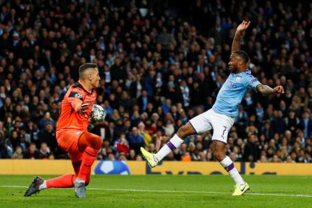 Sterling on a high with 11-minute hat-trick