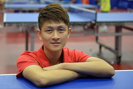 Clarence Chew, Yu Mengyu to take on the world's top table tennis stars