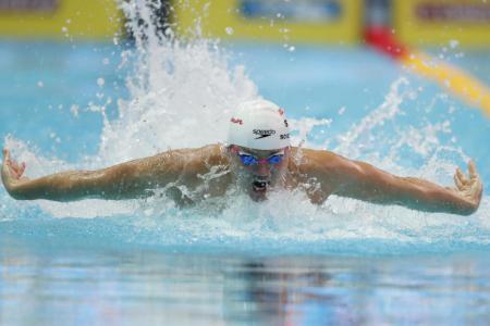 Joseph Schooling, Teong Tzen Wei in 1-2 finish in Melbourne