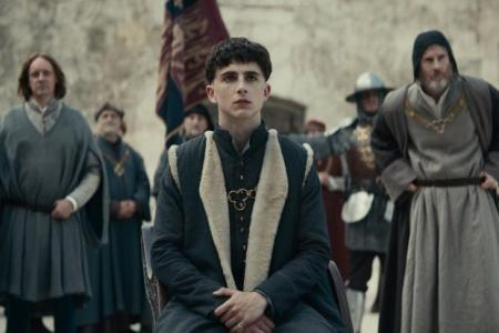 Chalamet holds court with Henry V role in The King