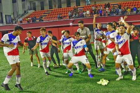 Warriors defeat Brunei DPMM on penalties to reach Singapore Cup final