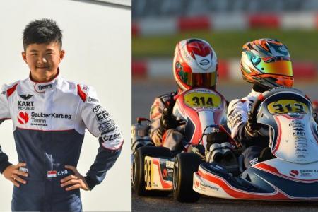 Christian, 13, joins former karting boss of Lewis Hamilton, Nico Rosberg