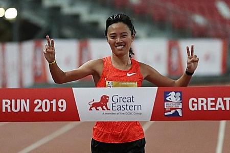 Less training, but better timing for Mok Ying Rong
