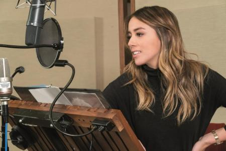 Chloe Bennet finds her Asian voice in Abominable