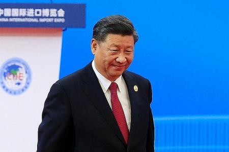 World must 'knock down walls': Xi