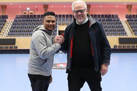 Swede deal for local floorball academy