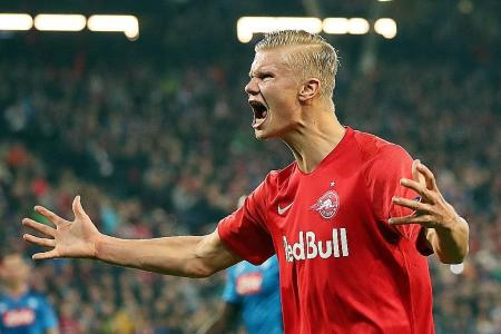 Erling Haaland built for the English Premier League, says dad Alf-Inge