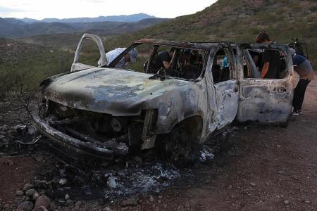 Suspected drug cartel hitmen kill 3 mothers, 6 kids