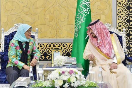 S'pore and Saudi Arabia sign MOU