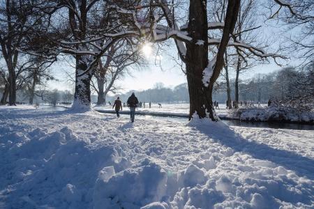 Discover a magical white winter in Munich