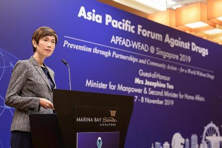 Anti-drug efforts now more challenging: Teo
