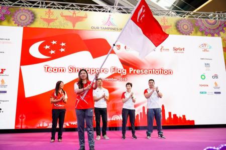 Singapore's athletes ready for the Games