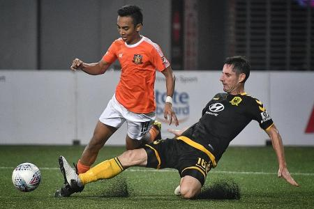 Tampines Rovers' evergreen defender Daniel Bennett wants to play on