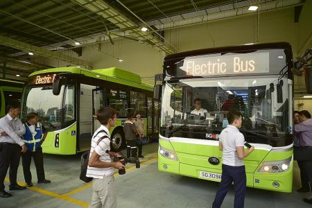 E-buses to roll out early next year