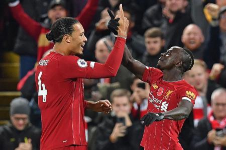 Virgil van Dijk cautious despite 9-point advantage over Man City