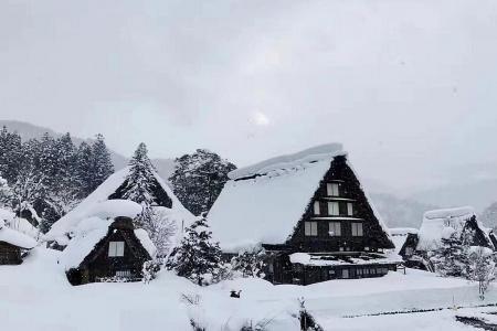 Escape to a winter wonderland