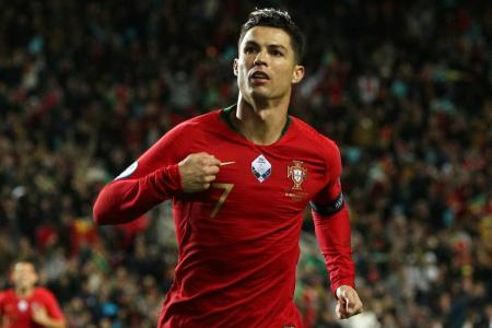 Ronaldo scores hat-trick to close in on 100th goal for Portugal