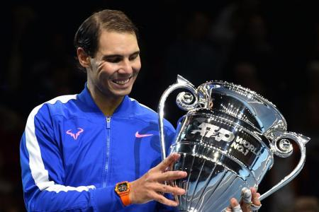 Nadal: Ending the year as No. 1 gives me huge satisfaction
