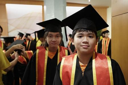 Supervised Homework Group holds graduation ceremony for P6 pupils