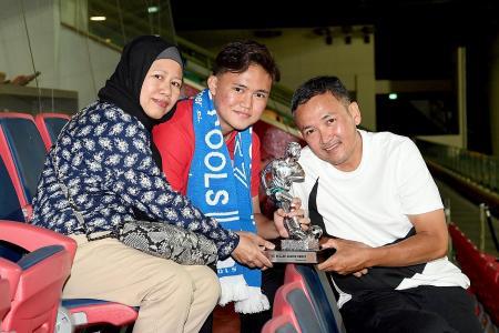 TNP Dollah Kassim Award winner Iman's not resting on his laurels