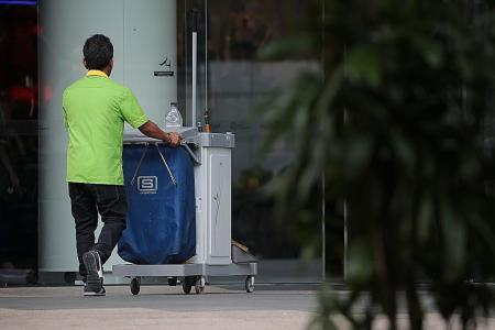 Residents to clean estates on April 26, 2020, as cleaners get day off