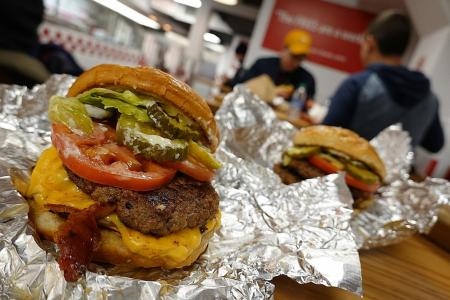 Makansutra: Heart-stopping burgers at Five Guys